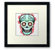 Dia De Los Muertos 100 % Framed Print