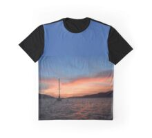 Sunrise Over Sea Graphic T-Shirt