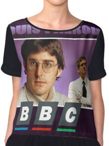 Louis Theroux Chiffon Top