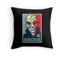 snoke popart Throw Pillow