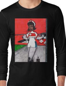 Waiting on the Pilots Long Sleeve T-Shirt