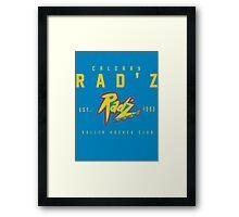 Rad'z Hockey Framed Print