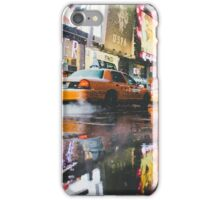 Taxi in NYC iPhone Case/Skin