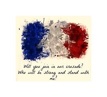 Enjolras's Words by winter-soldier