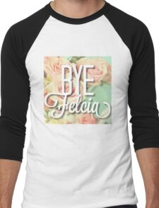 Vintage Floral Bye Felicia Men's Baseball ¾ T-Shirt
