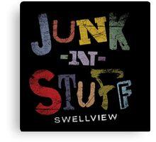 Junk-n-Stuff Canvas Print