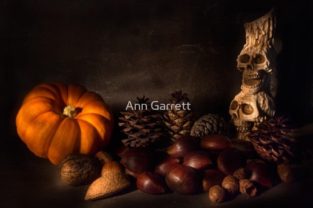 Halloween Still Life - 2 by Ann Garrett