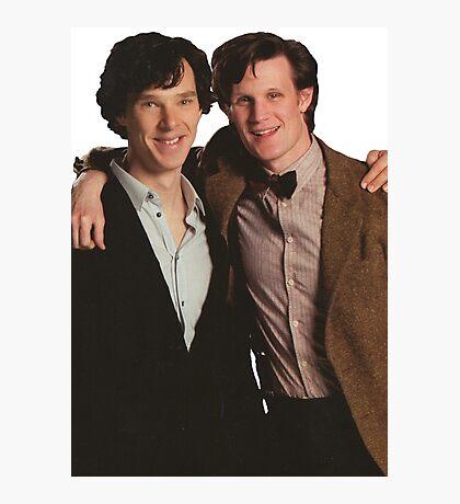Sherlock and Eleven Photographic Print