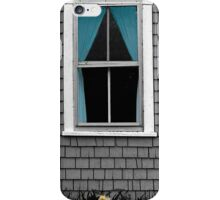 Blue Curtain and Narcissus iPhone Case/Skin