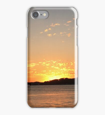 Sunset on the Lake iPhone Case/Skin