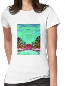 Tropical Trip  Womens Fitted T-Shirt