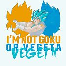 Vegeth! Not Goku nor Vegeth! by dragonballsuper