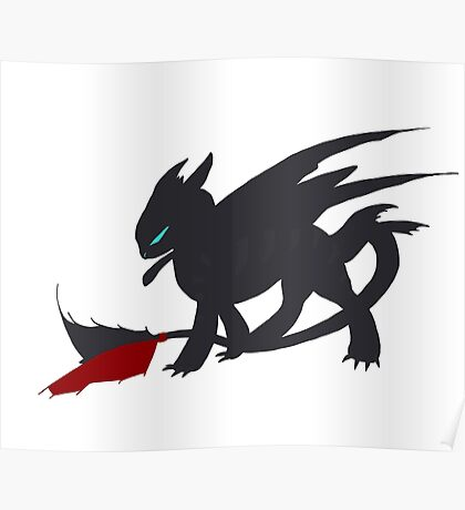 Toothless Poster