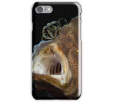 Pez rana bostezando iPhone Case/Skin
