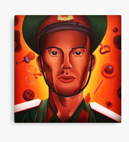 Hanoi Soldier Canvas Print
