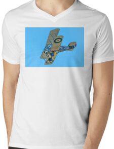 Sopwith Snipe reproduction F2367 ZK-SNI Mens V-Neck T-Shirt