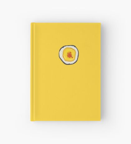 Sushi cheese Hardcover Journal