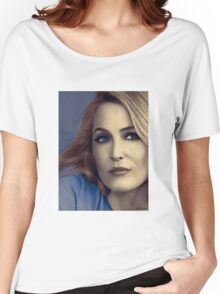 Gillian Anderson portrait Women's Relaxed Fit T-Shirt