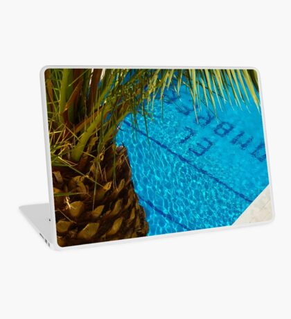 The pool at El Sombrero Laptop Skin