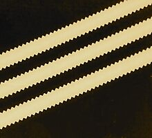 Adidas Black Stripe Logo  by goldentouch