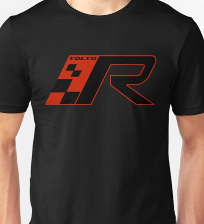 Volvo R Design Racing Graphic RED Unisex T-Shirt