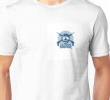 Saltwater sniper spearo Unisex T-Shirt