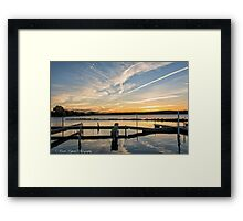 Empty Slips Framed Print