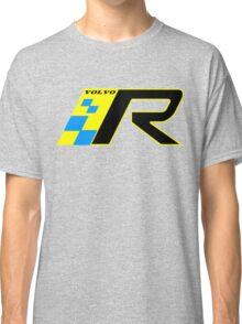 Volvo R Design Racing Graphic YEL2 Classic T-Shirt