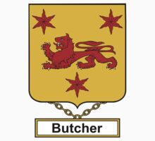 Butcher Coat of Arms (English) Kids Clothes
