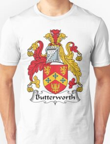 Butterworth Coat of Arms (English) T-Shirt
