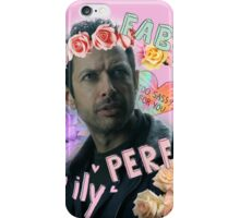 Flower Crown Goldblum iPhone Case/Skin