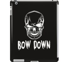 Bow down white  iPad Case/Skin