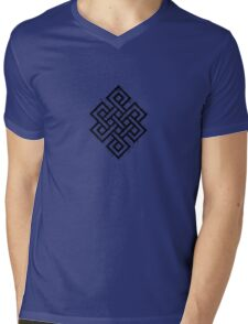The Ancient Endless Knot  Mens V-Neck T-Shirt