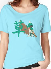 Decidueye With Grass Kanji Women's Relaxed Fit T-Shirt