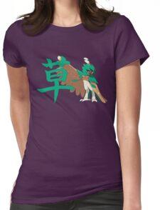 Decidueye With Grass Kanji Womens Fitted T-Shirt