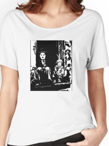 The Kid Charlie Chaplin Women's Relaxed Fit T-Shirt
