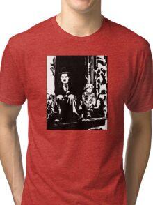 The Kid Charlie Chaplin Tri-blend T-Shirt