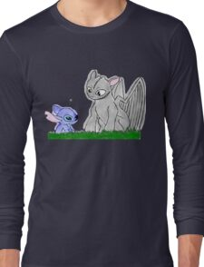 Toothless and Stitch Long Sleeve T-Shirt