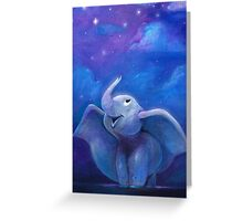 'To Fly Among the Stars' Greeting Card