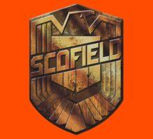 Custom Dredd Badge - Scofield Kids Clothes