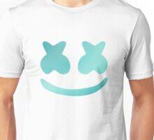 Marshmello - Turquoise Color Unisex T-Shirt