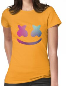 Marshmello - Galaxy Color Womens Fitted T-Shirt