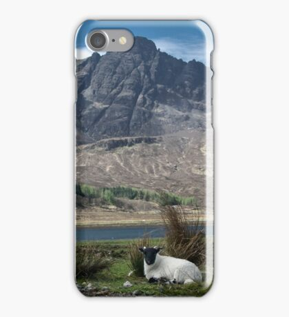 Cuillin view iPhone Case/Skin