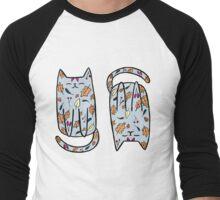 Autumn Kitty Men's Baseball ¾ T-Shirt