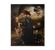 Steampunk Time Traveler Art Board