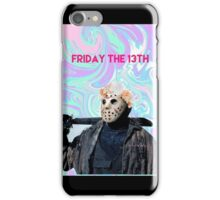 friday the 13th pastel iPhone Case/Skin