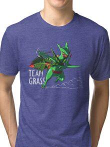 Team Grass - Mega Sceptile Tri-blend T-Shirt