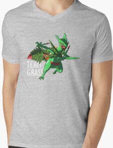 Team Grass - Mega Sceptile Mens V-Neck T-Shirt