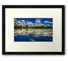 Mirrored..  Framed Print