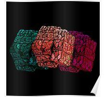 Brain cube Poster